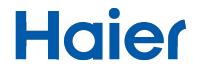 Logotipo Haier Aires acondicionados