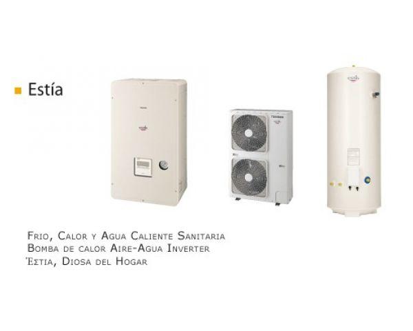 Calefacci n enfriadora bomba de calor toshiba clima ofertas for Calefaccion bomba de calor radiadores