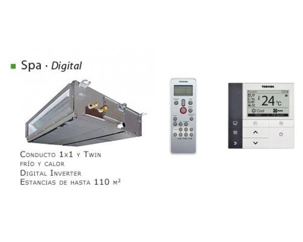 Comprar Aire Acondicionado Split Conductos Digital Inverter Toshiba